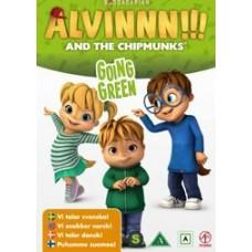 Alvinnn!!! ja Pikkuoravat vol 5 - Vihreesti