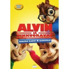 ALVIN JA PIKKUORAVAT 1-4 BOX (4 disc)