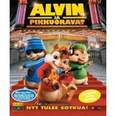 Alvin ja pikkuoravat - Blu-ray