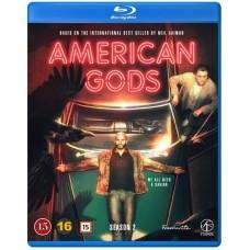 AMERICAN GODS -KAUSI 2 - Blu-ray