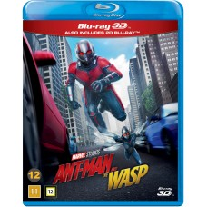 ANT-MAN AND THE WASP - BLU-RAY 3D + BLU-RAY