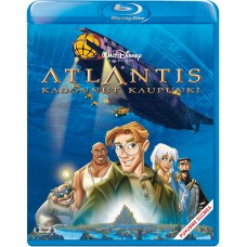 DISNEY KLASSIKKO 40 - ATLANTIS - KADONNUT KAUPUNKI - Blu-ray