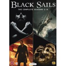BLACK SAILS - KAUSI 1-4 BOX (15 disc)