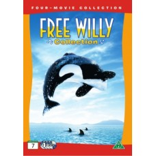 FREE WILLY COLLECTION (4 disc box) (Elokuvat 1-4)