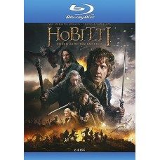 Hobitti (3) - Viiden armeijan taistelu - Blu-ray