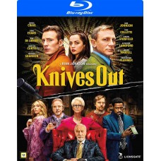 VEITSET ESIIN - KNIVES OUT - Blu-ray