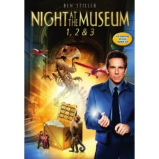 YÖ MUSEOSSA - NIGHT AT THE MUSEUM 1-3 BOX (3 disc)