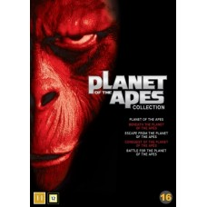 APINOIDEN PLANEETTA - PLANET OF THE APES BOX (1968-1973) (5 disc)