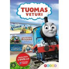 TUOMAS VETURI ELOKUVA BOKSI 1 (3 disc)