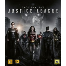 ZACK SNYDERS JUSTICE LEAGUE - Blu-ray